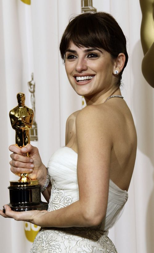 Penelope Cruz won the Academy Award for Best Supporting Actress in 2008 for Vicky Cristina Barcelona.