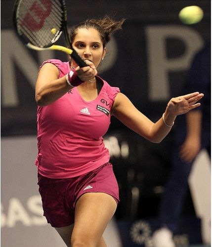 Indian legendary lawn Tennis player Sania Mirza