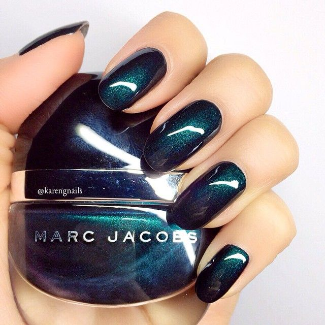 # Green with Envy | Marc Jacobs Beauty Enamored Nail Lacquer
