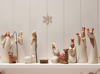 Luxury Nativity Set.