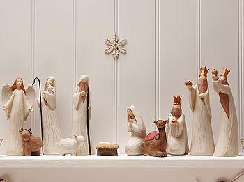 Luxury Nativity Set.