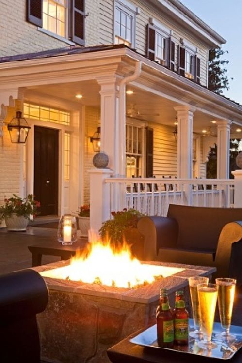 Beautiful porch and outdoor living space.