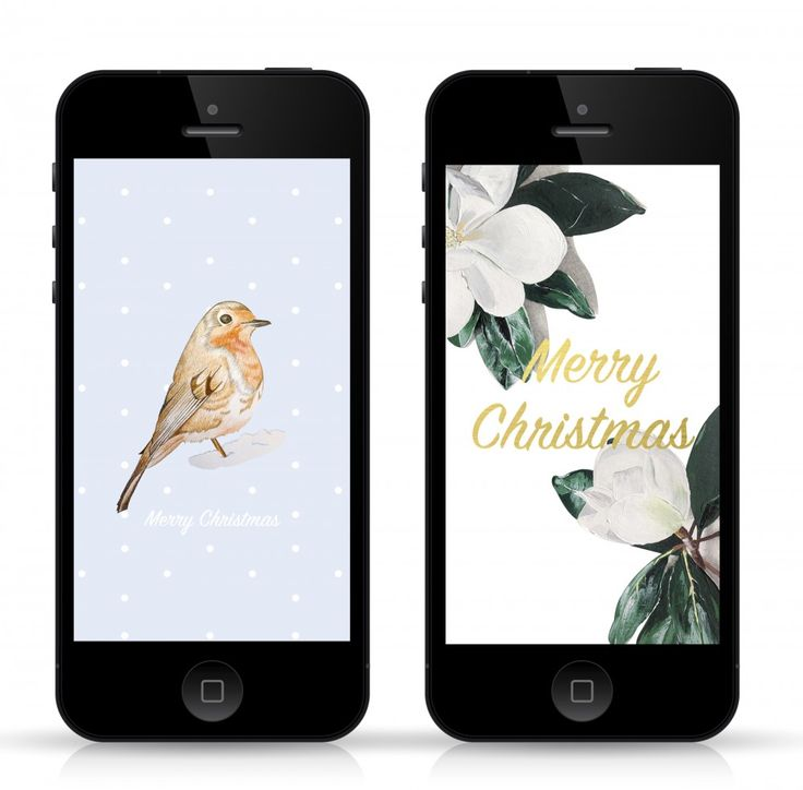 Fickle Crowd : Freebie Christmas iPhone wallpapers