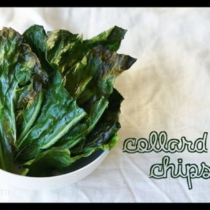 Collard chips! Like kale...only collard....