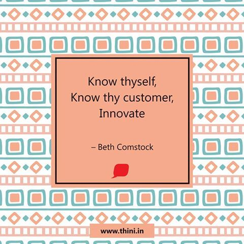 #Thini #Customer #Innovation