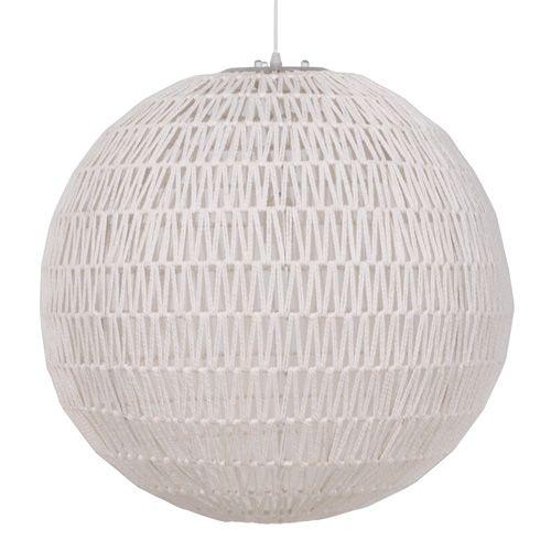 Zuiver Hanglamp Cable. Geheel uitgevoerd in wit en heeft een serene uitstraling. De kabelstructuur geeft de lamp een speels randje.  #lampen #wit