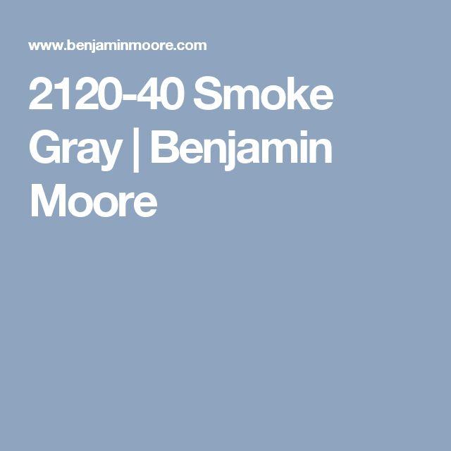 2120-40 Smoke Gray | Benjamin Moore
