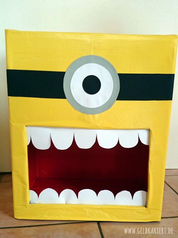 die besten 25 minions basteln ideen auf pinterest ein minion minion kunst und basteln mit. Black Bedroom Furniture Sets. Home Design Ideas
