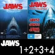 Jaws 1,2,3,4,