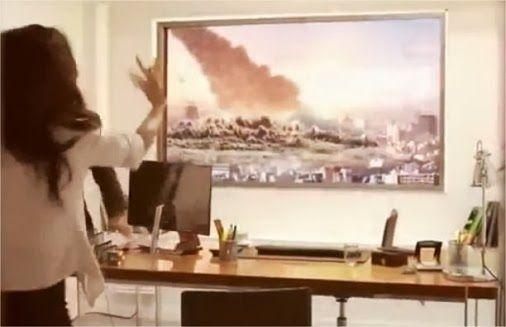A LG realizou uma pegadinha bastante original para promover a sua TV Ultra HD de 84 polegadas em um escritório de entrevistas de emprego. O espaço de uma janela foi substituído inteiramente pela televisão, exibindo o cenário real da cidade ao fundo. Quando os candidatos ao trabalho chegam ao ambient