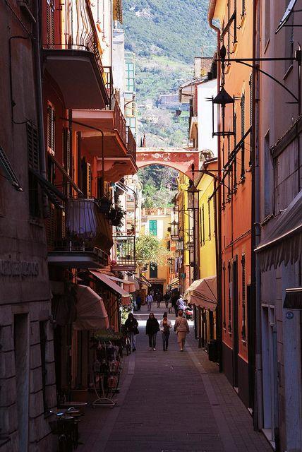Via di Moneglia, Liguria, Italy