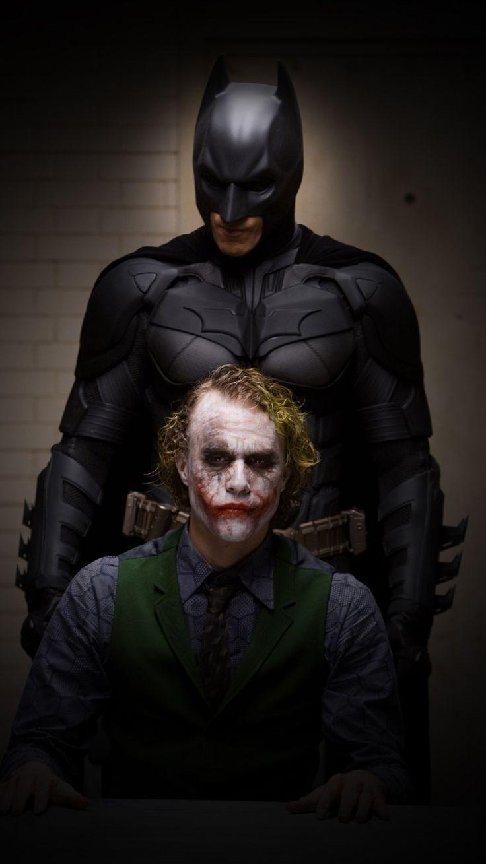 #Batman #Fan #Art. (Batman and Joker Movie Pic in HD) By: DC. ÅWESOMENESS!!!™ ÅÅÅ+