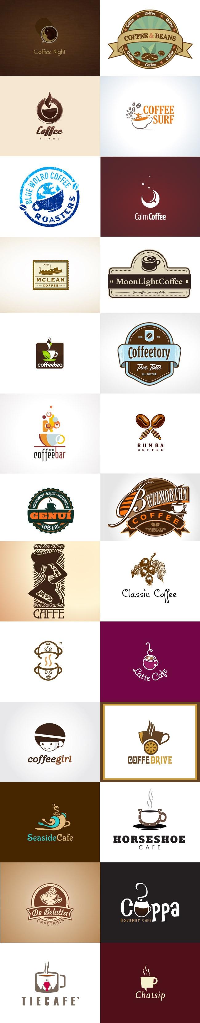 grafiker.de - Logo-Inspiration: Kaffee Teil 2