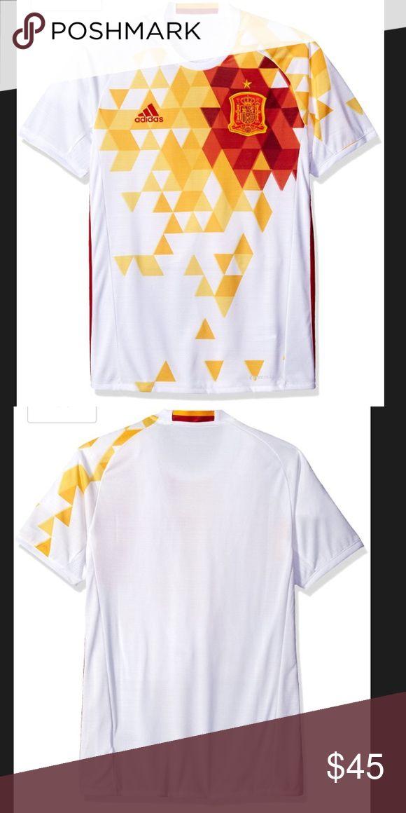 Spain International Soccer Jersey New. Spain International Soccer Jersey. Adidas Shirts Tees - Short Sleeve