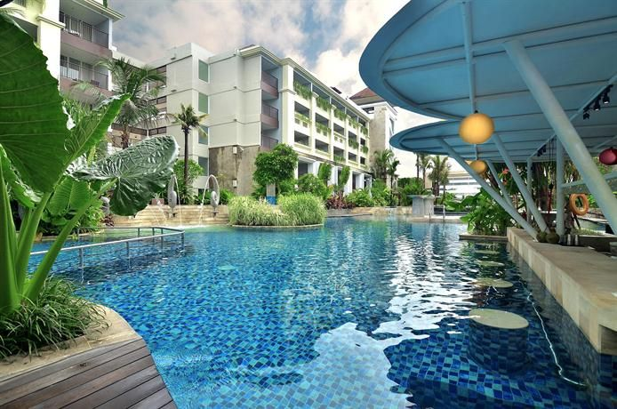 OopsnewsHotels - Swiss-Belresort Watu Jimbar. Swiss-Belresort Watu Jimbar is set in Sanur and is within a short walk of nearby attractions, including Sanur Beach. It also offers an outdoor pool, valet parking and free Wi-Fi.   There are 306 rooms at Swiss-Belresort Watu Jimbar, each offering all the essentials to ensure a comfortable stay.