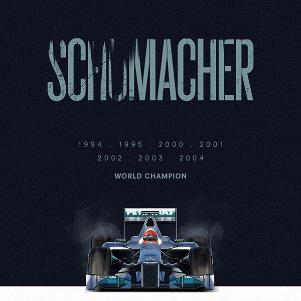 F1 Heros Schumacher