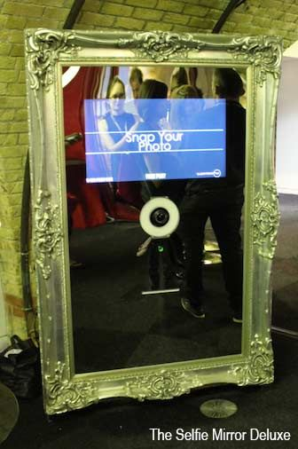 Mirror Selfie - Mirror Photobooth | UK Contraband Events | Performers | Entertainment Agency | Corporate Event Entertainment / UK Talent Booking Agency / Celebrity / Famous Artistes / London / UK www.contrabandevents.com