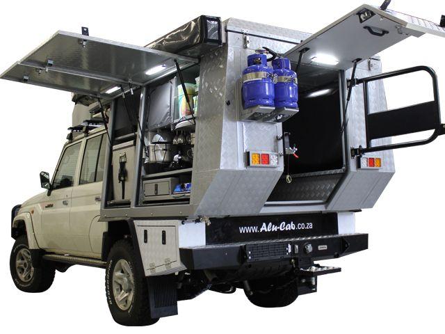Alu-Cab | Custom Built Projects : The Ossewa