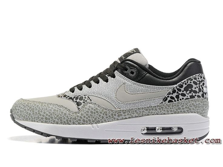 Atmos x Nike Air Max 1 PRM Cool Grey Chaussures Nike Release 2017 Pour  Homme Gris