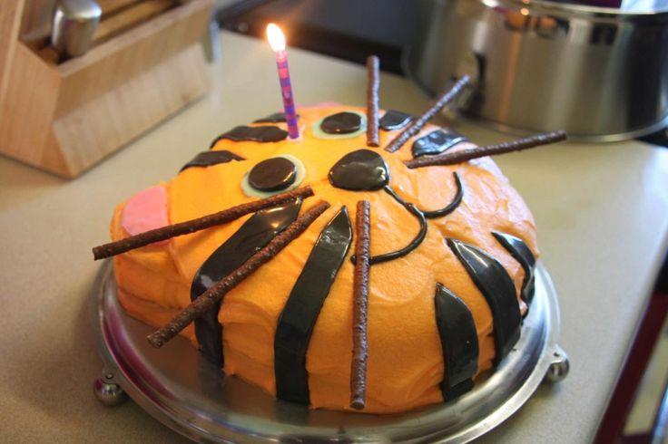 Contributeur: Zoe Blofeld Cake: Gâteau d'anniversaire de tigre Pour ce gâteau de tigre, j'ai …   – Elena's 2nd Birthday Party