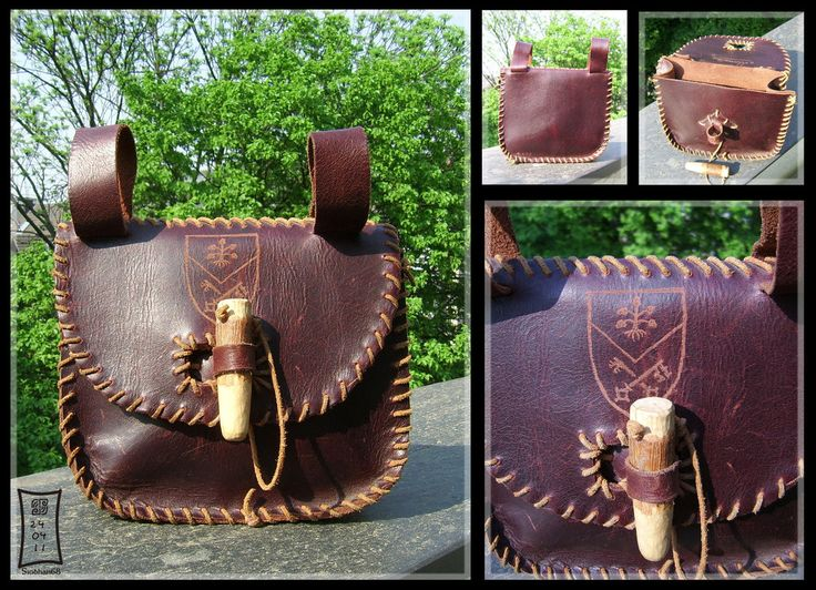 Leather Belt Bag by *Siobhan68 on deviantART