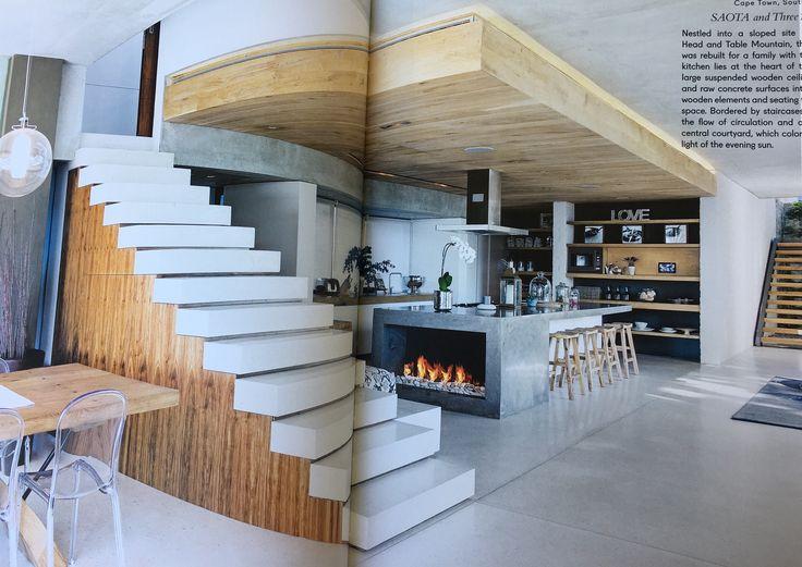 Fire in kitchen = amazing