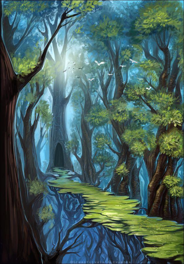 Secret pathway by sashulka on DeviantArt