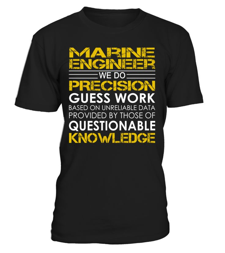 Marine Engineer - We Do Precision Guess Work
