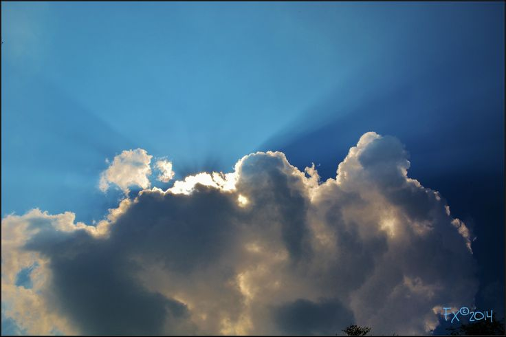 The sun always shines behind the clouds.
