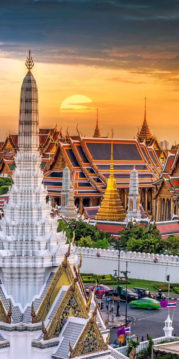 Wat phra kaew, Bangkok, Thailand.                                                                                                                                                                                 More