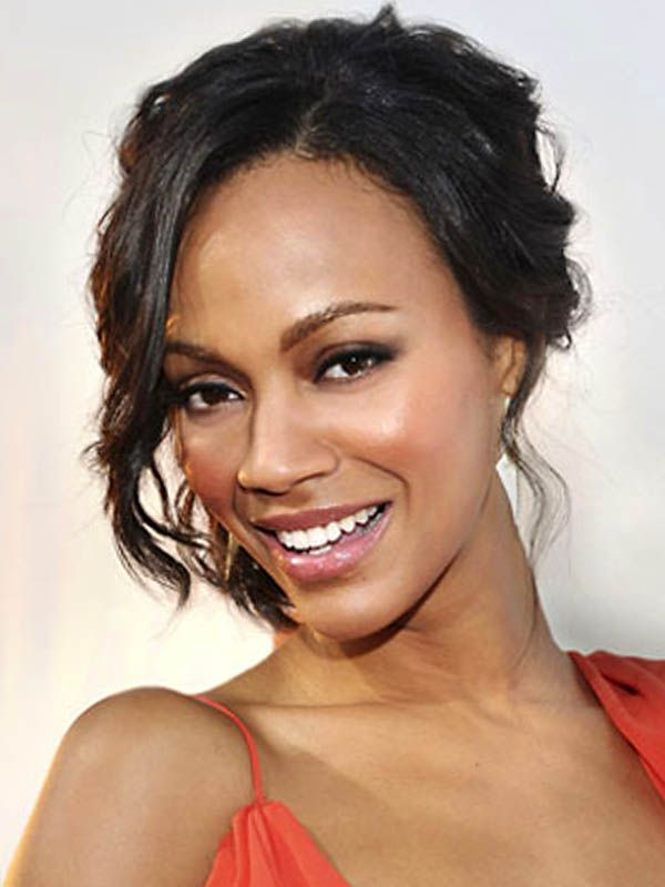 The 25 best casual updo hairstyles ideas on pinterest casual zoe saldana the best of casual updos hairstyles pmusecretfo Choice Image