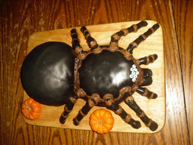15 best Spider cake images on Pinterest Spider cake Halloween