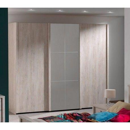 17 meilleures id es propos de armoire porte coulissante - Armoire 2 portes coulissantes miroir ikea ...