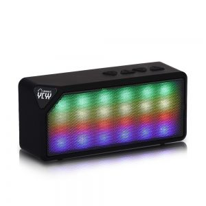 portable bluetooth speakers with lights. hot selling mini wireless flash led lights pulse bluetooth speaker support handsfree tf card fm radio for smartphone portable speakers with t
