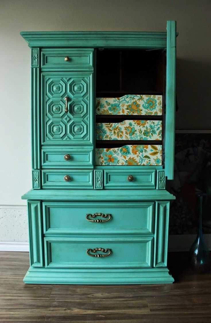 images about Chalk It Up to Distressed Furniture on