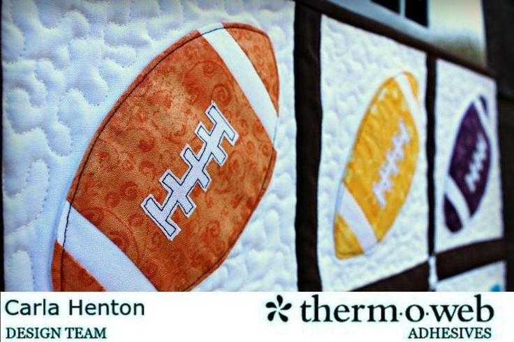 Free Quilt Pattern: Dimensional Football Quilt Block