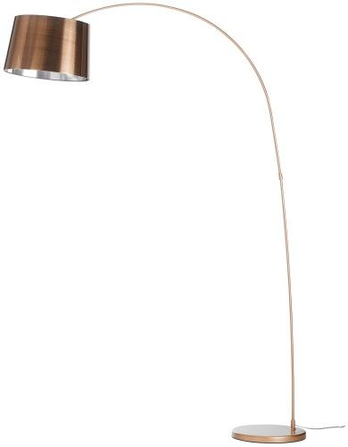 decorative copper arc floor lamp and copper pipe floor lamp