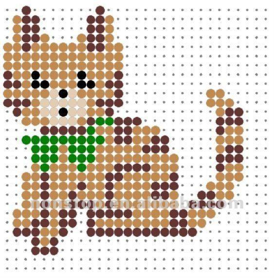Perler Bead Pegboard Animal Patterns - Buy Perler Bead Pegboard ...