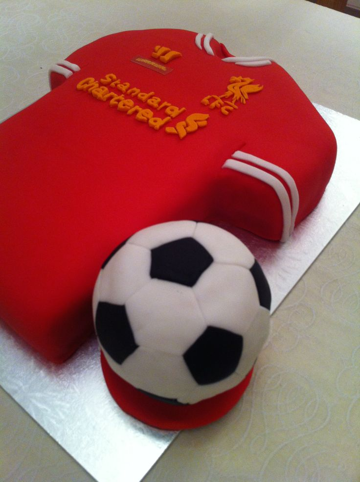 Cake Decorating Football Shirt : 13 best images about Liverpool Football Cake on Pinterest ...