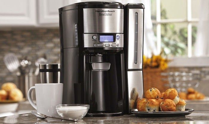 Hamilton Beach BrewStation 47950 - Best Top Rated Coffee Makers Under $50