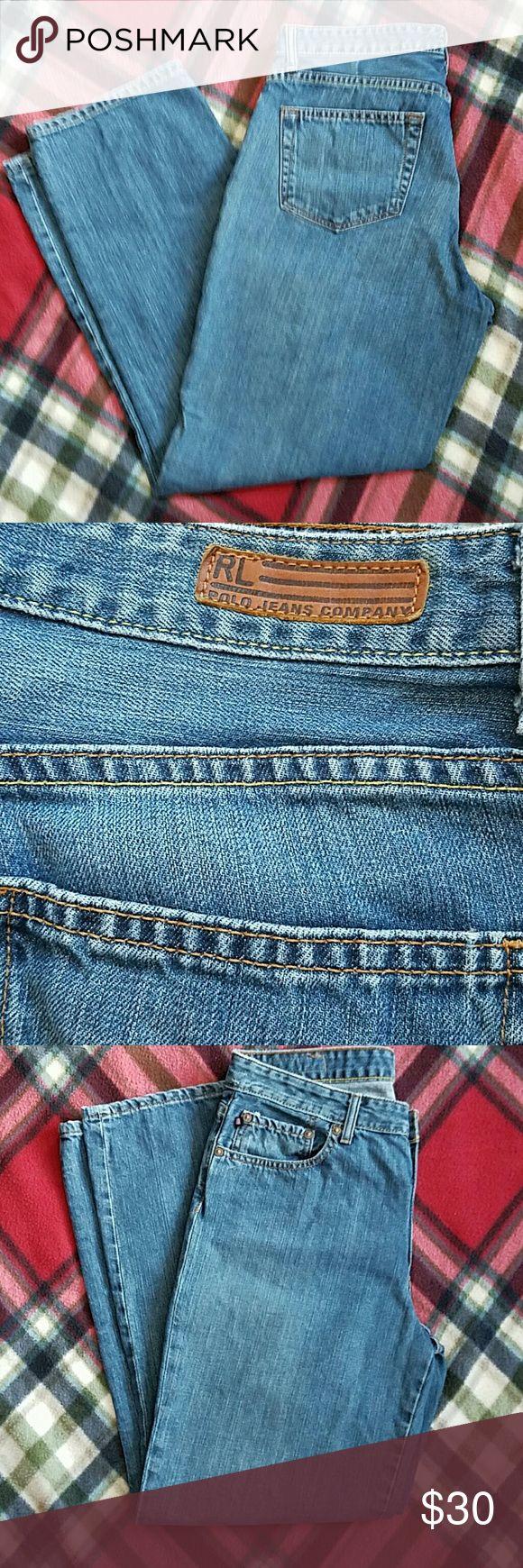 RL POLO JEANS COMPANY JEANS GREAT SHAPE... RL POLO JEANS COMPANY Jeans Boot Cut