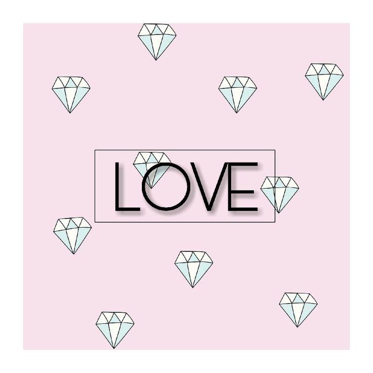 Love like a diamond. Berlian itu berkilau, indah, sangat berharga. Begitupun cinta. Cinta yang tulus akan terus berkilau. Jika kau mengaku cinta, tapi merasa redup, itu bukan lagi cinta. Indah. Tak ada cinta yang menyakitkan. Jika itu menyakitkan, bukan cinta, tapi nafsu. Berharga. Kamu akan menyesal jika sudah tak punya cinta itu lagi.
