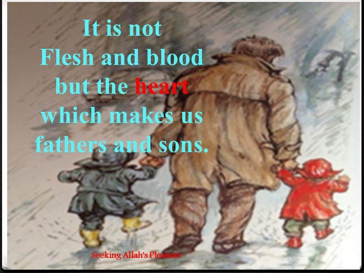 its not flesh and blood