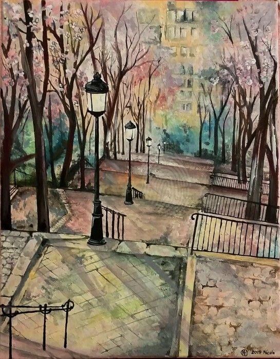 Montmartre In Fall