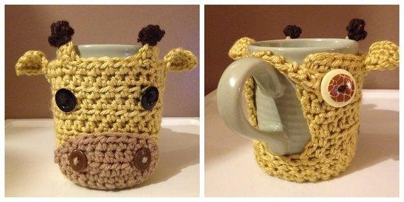 Crochet Mug / Forro de Crochet para taza