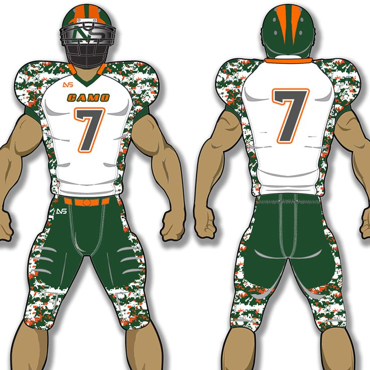 Custom adult football uniforms get your team suited up for for Custom football jersey shirts