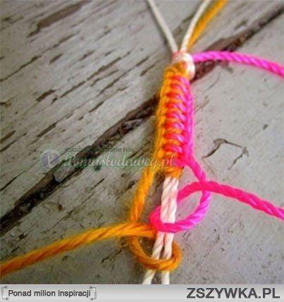 Zobacz zdjęcie kolejna odsłona bransoletki ze sznurka ( i nie tylko) w pełnej rozdzielczości