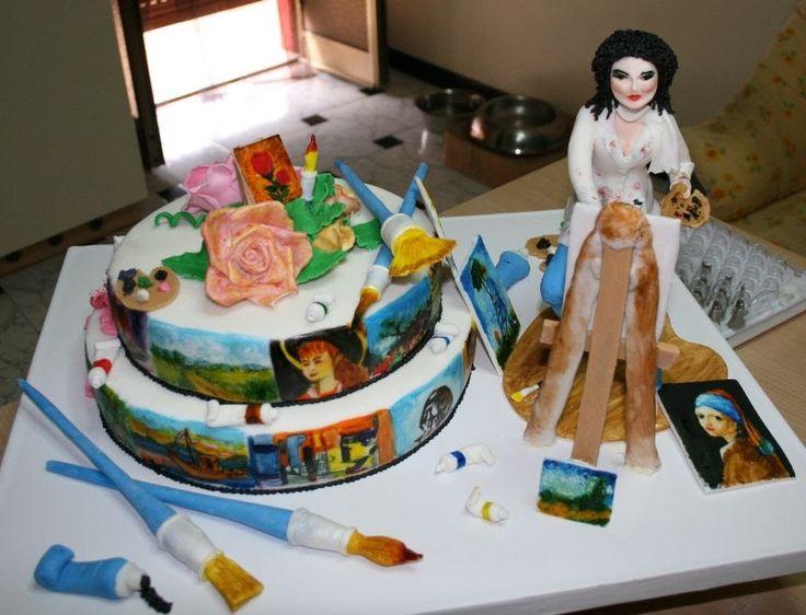Le torte decorate di Greedy decorating cakes