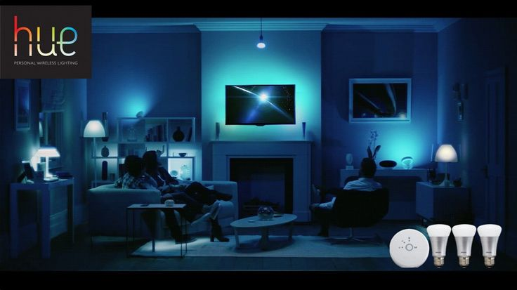 Philips HUE - smart connected lighting