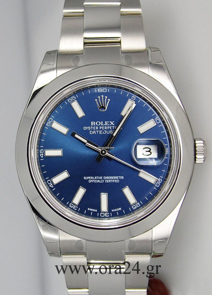 Rolex Datejust Ii Blue Dial Roman Numerals